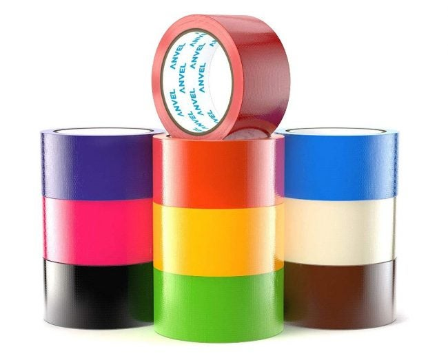 The Best Duct Tape Option: Anvel Colored Duct Tape