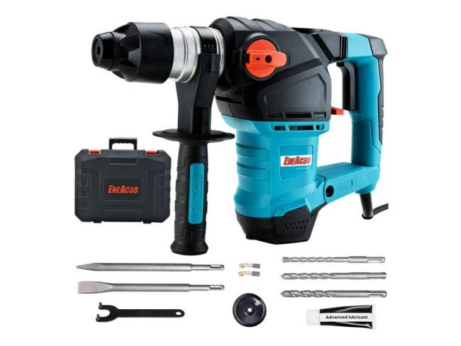 The Best Hammer Drill Option: Eneacro 12.5 Amp Heavy Duty Rotary Hammer Drill