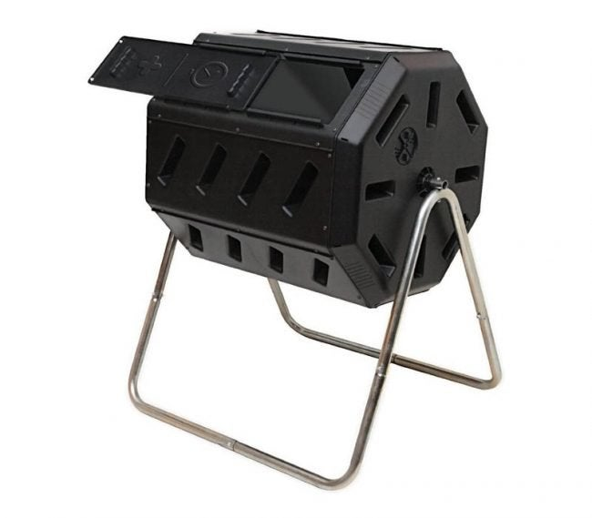 The Best Compost Bin Option: FCMP Outdoor IM4000 Tumbling Composter