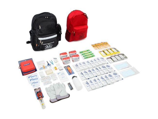The Best First Aid Kit Option: First My Family 4-Person Premium Disaster Preparedness Survival Kit