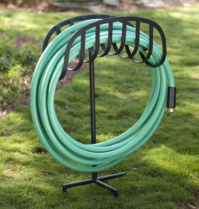 The Best Hose Reel Option: Liberty Garden Manger Style Garden Hose Stand