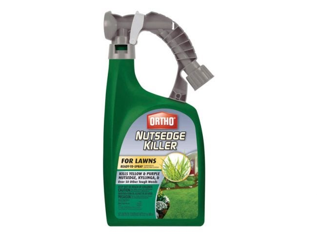 The Best Weed Killer Option: Ortho Nutsedge Killer for Lawns