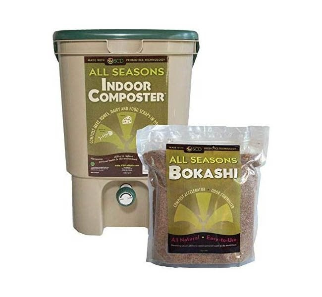 The Best Compost Bin Option: SCD Probiotics All Seasons Indoor Composter