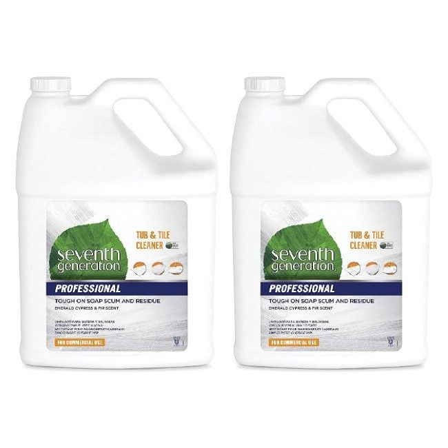 The Best Grout Cleaner Option: Seventh Generation Professional Tub & Tile Cleaner