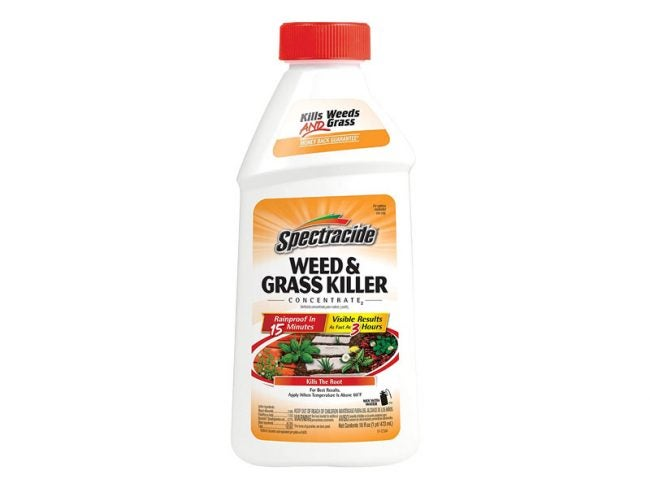 The Best Weed Killer Option: Spectracide Weed & Grass Killer Concentrate