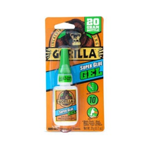 The Best Super Glue Option: Gorilla 7700104 Super Glue Gel