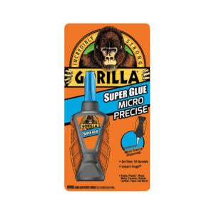 The Best Super Glue Option: Gorilla Micro Precise Super Glue