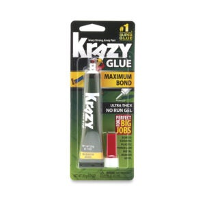 The Best Super Glue Option: Krazy Glue Maximum Bond Super Glue