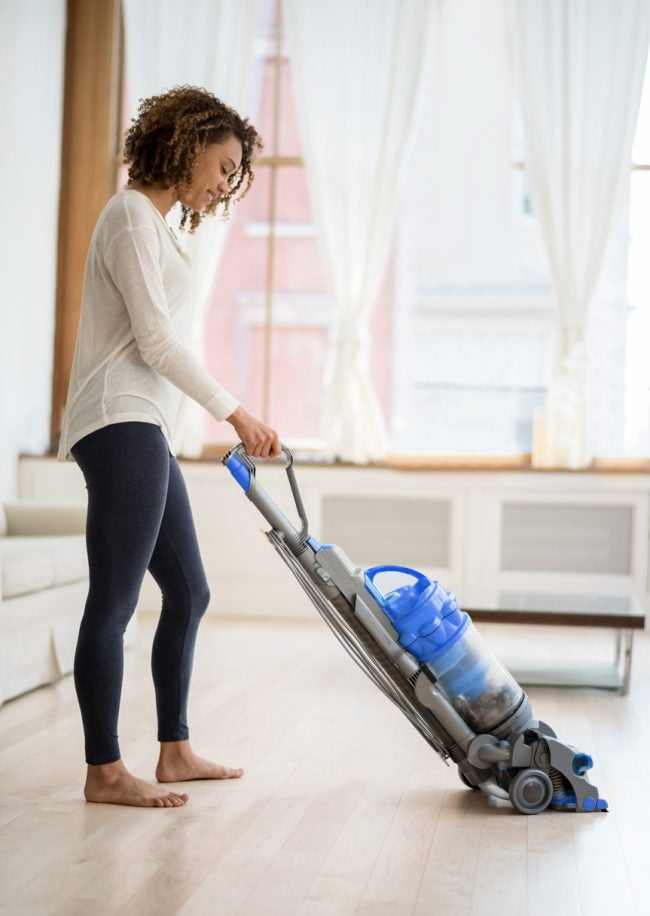 Why Is My House So Dusty? Infrequent Vacuuming