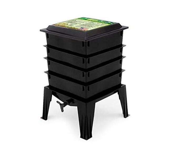 The Best Compost Bin Option: Worm Factory 360 WF360B Worm Composter