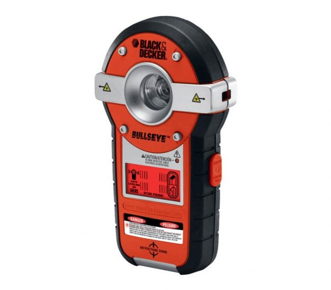 The Best Laser Level for Home Use Option: Black+Decker BDL190S Line Laser and Stud Finder