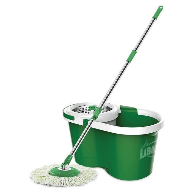 The Best Mop Overall: Libman Spin Mop