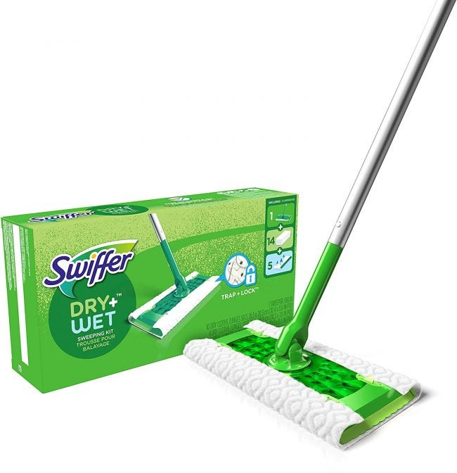 Best Mop with Removable Pad: Swiffer Sweeper