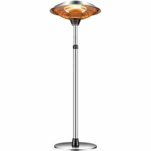 The Best Patio Heaters Option: WDERNI Outdoor Infrared Electric Patio Heater