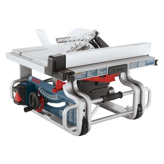 The Best Table Saw Option: Bosch 10-Inch Portable Table Saw