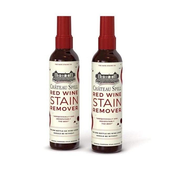 The Best Carpet Stain Remover Option: Chateau Spill Red Wine Stain Remover Spray