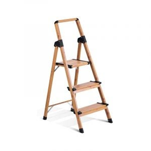 The Best Step Ladder Option: Delxo 3-Step Home and Kitchen Step Ladder