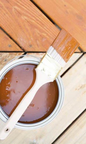 Sealing the Deck: Difference Between paint, stain, and sealant