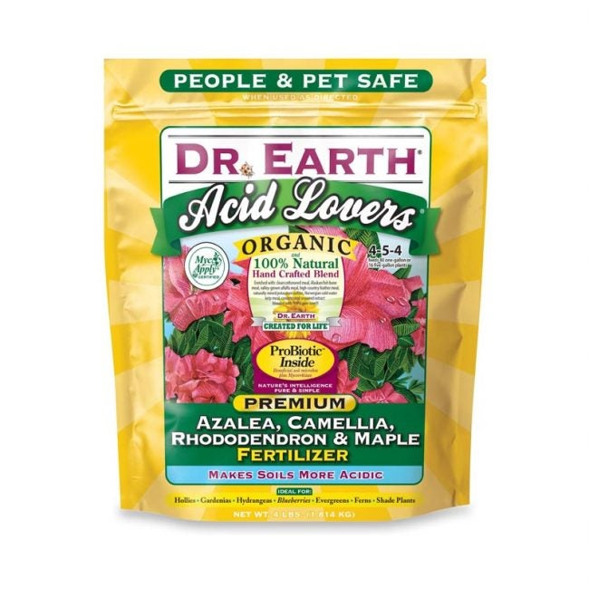 Dr. Earth Organic Acid-Lovers Fertilizer