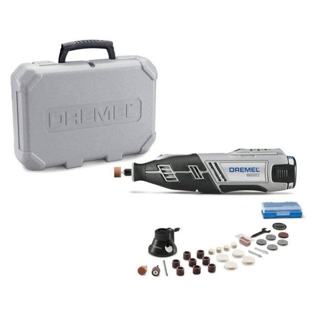 The Best Rotary Tool Option: Dremel 8220-1/28 Cordless Rotary Tool Kit