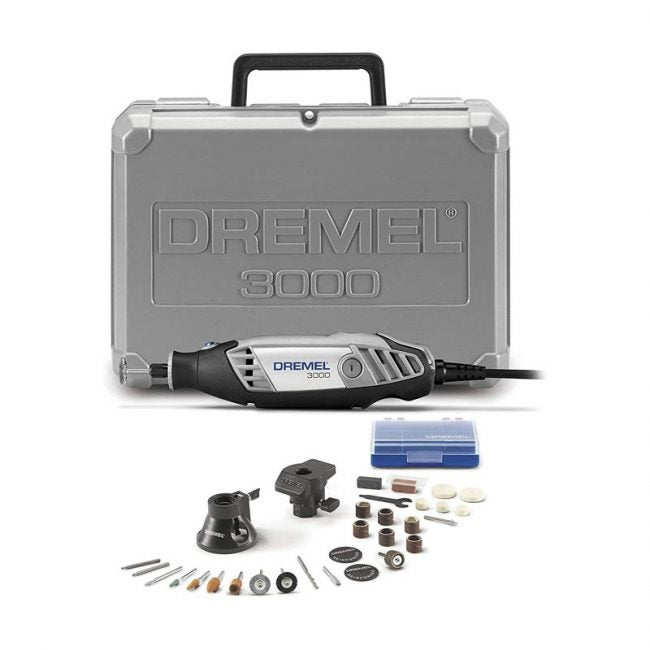 The Best Rotary Tool Option: Dremel 3000-2/28 Variable Speed Rotary Tool Kit