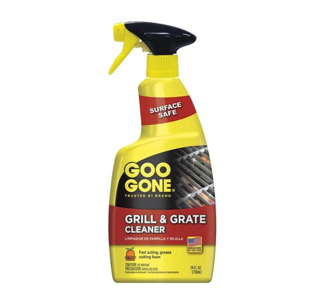 The Best Grill Cleaner Option: Goo Gone Grill and Grate Cleaner