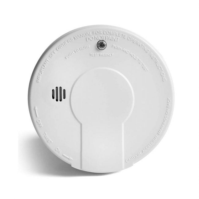 The Best Fire Detector Option: Kidde i9050 Smoke Detector