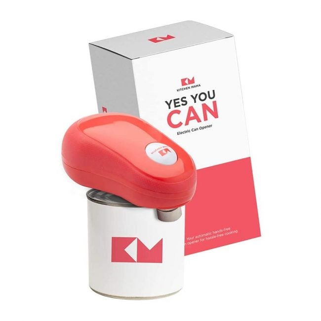 The Best Can Opener Option: Kitchen Mama One Touch Electric Can Opener