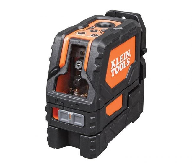 The Best Laser Level for Home Use Option: Klein Tools 93LCLS Laser Level