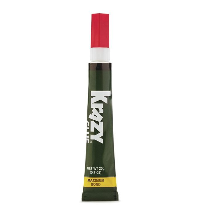 he Best Super Glue Option: Krazy Glue Maximum Bond Super Glue