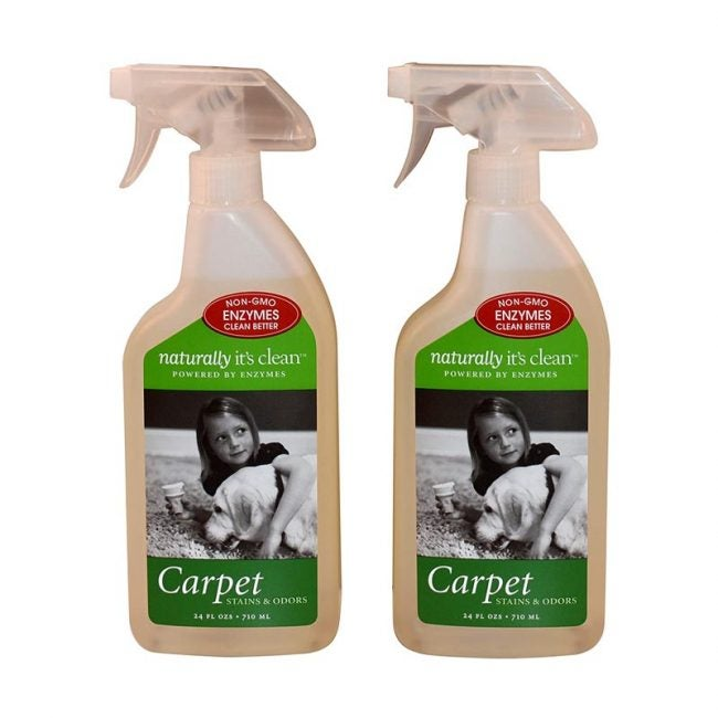 The Best Carpet Stain Remover Option: Naturally It's Clean Carpet Stains & Odors Cleaner