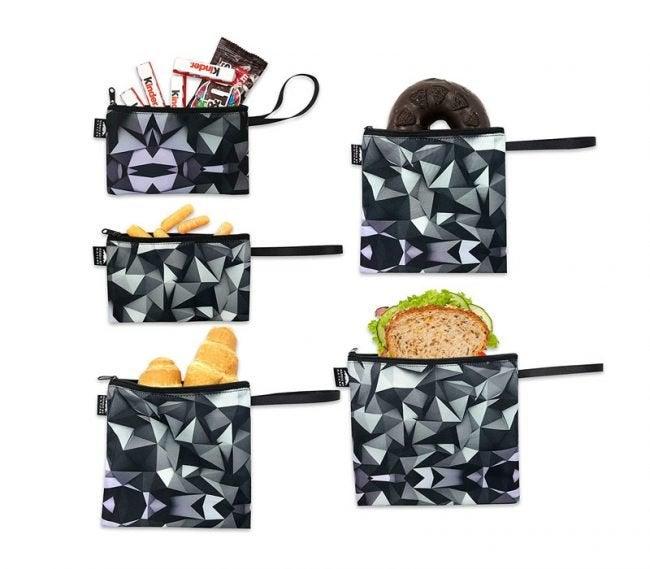 The Best Reusable Sandwich Bags Option: Nordic By Nature Reusable Sandwich Bag Snack Bags