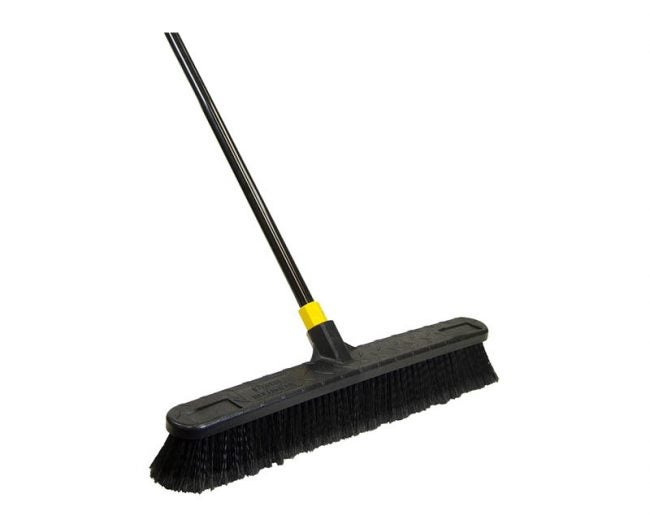 The Best Broom Option: Quickie Push Broom
