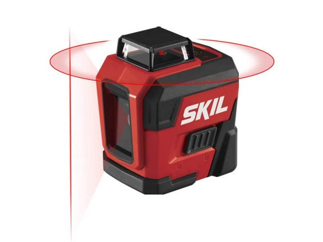 The Best Laser Level for Home Use Option: SKIL Self-Leveling 360-Degree Cross Line Laser