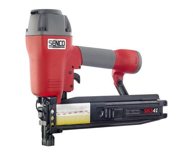 The Best Staple Gun Option: Senco SNS41 16-Gauge Stapler