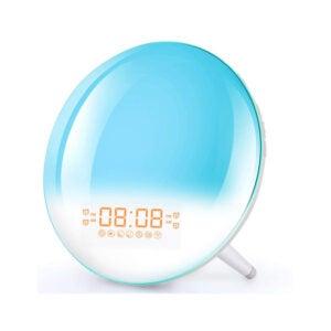 The Best Alarm Clock Option: Corlitec Smart Wake Up Light Alarm Clock