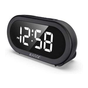 The Best Alarm Clock Option: USCCE Small LED Digital Alarm Clock