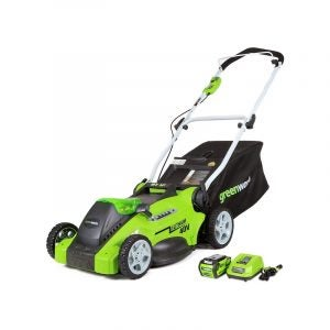 The Best Electric Lawn Mower Option: Greenworks 16-inch Cordless Lawn MowerThe Best Electric Lawn Mower Option: Greenworks 16-inch Cordless Lawn Mower
