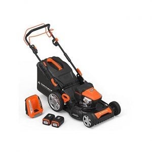 The Best Electric Lawn Mower Option: Yard Force 22-inch 3-in-1 Cordless Mower