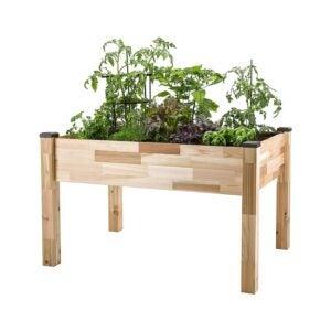 The Best Raised Garden Bed Option: CedarCraft Elevated Cedar Planter