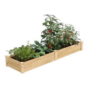 The Best Raised Garden Bed Option: Greenes Fence Cedar Raised Garden Kit