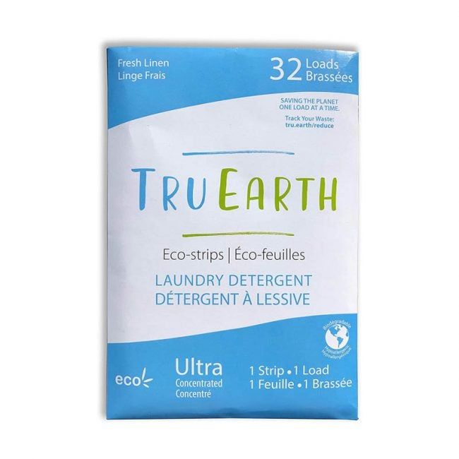 The Best Laundry Detergant Option: Tru Earth Eco-Strips