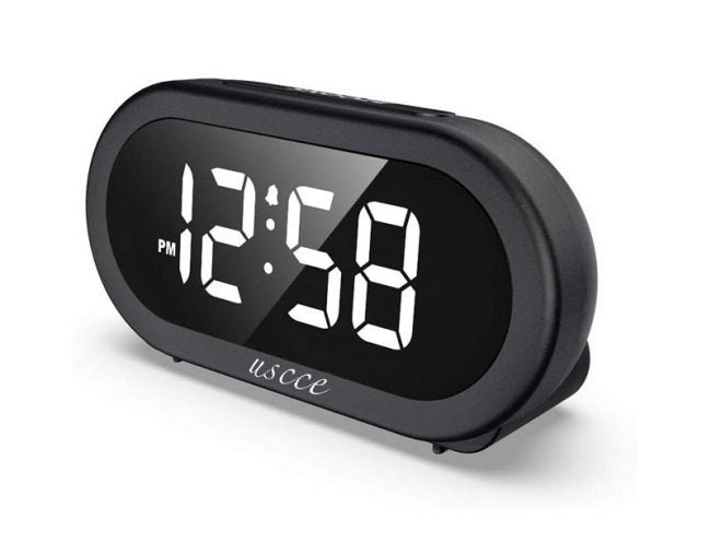 The Best Alarm Clock Option: USCCE Small LED Digital Alarm Clock