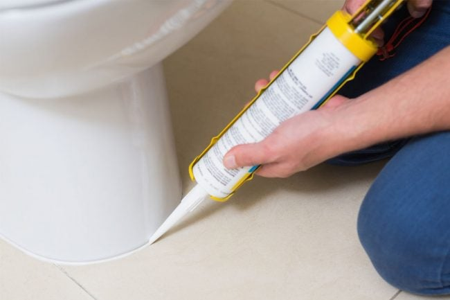 Proper Technique for Caulking the Bathroom