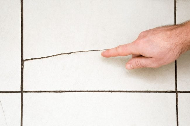 Cracked Tiles Might Indicate That It's Time to Replace a Subfloor