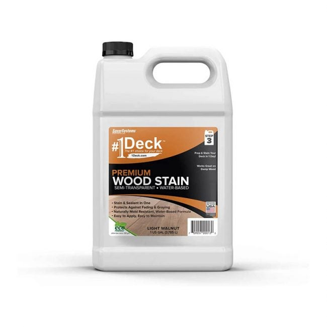 The Best Fence Stain Option: #1 Deck Wood Stain for Decks, Fences, and Siding