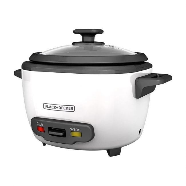 The Best Rice Cooker Option: Black+Decker Rice Cooker and Food Steamer