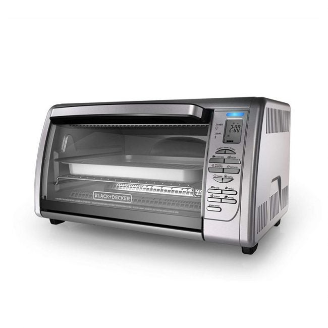 The Best Toaster Oven Option: Black+Decker Countertop Convection Toaster Oven