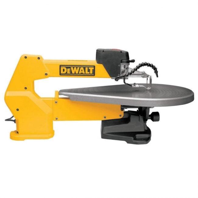 The Best Scroll Saw Option: DEWALT 20-Inch Variable Speed Scroll Saw