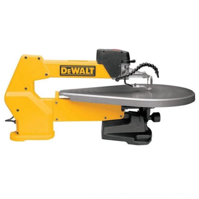 The Best Scroll Saw Option: DEWALT 20-Inch Variable Speed Scroll Saw